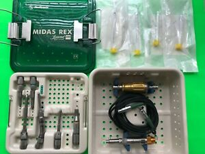 Medtronic MIDAS REX Legend EHS Spine Drill Set  with Attachments in Tray