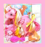 ❤️My Little Pony MLP G1 VTG 1984 Glittering Gem Princess Brush 'n Grow Jewel❤️