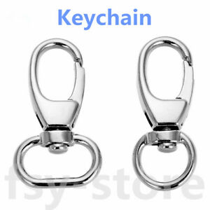 Wholesale suitable for handbag hook 39mm keychain key ring