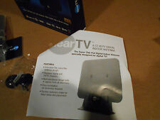 NEW AMPLIFIED INDOOR HDTV ANTENNA POWER HIGH GAIN 20dB UHF VHF FM DIGITAL TV