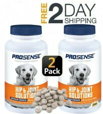 2 Pack Glucosamine for Dogs Senior Advanced Hip Joint Solutions Dog Care Chews