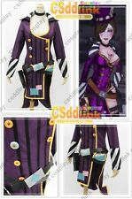 Borderlands 2 Mad Moxxi cosplay costume purple outfit & hat