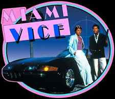 80's TV Classic Miami Vice Crockett & Tubbs custom tee Any Size Any Color