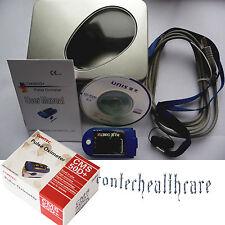 Finger-Pulsoximeter SPO2-Messer mit Alarm, OLED, Pulston, USB,24 STUNDEN 50D+
