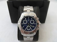 CN111G.BA0337 Tag Heuer Exclusive Quartz Chronograph Professional Blue Watch