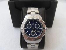 CN111G.BA0337 Tag Heuer Exclusive Quartz Chronograph Professional Blue Watch