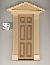 Door - Federal Style - 454 wooden dollhouse miniature 1:12 scale Made in Usa
