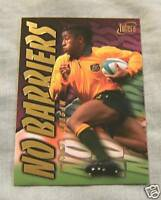 1996 AUSTRALIAN RUGBY UNION CARD NB3 - GEORGE GREGAN