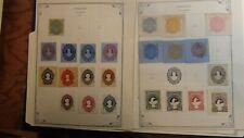 Honduras cut Squares stamp selection on sheet