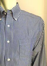 Brooks Brothers Shirt, Copley Stripes, M (15-1/2, 34), Traditional Fit, EUC