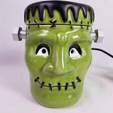 Scentsy He's Alive Frankenstein Wax Warmer Halloween Ceramic Green Monster