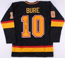 "Pavel Bure Signed Vancouver Canucks Jersey Inscribed ""HOF 12"" (Beckett COA)"