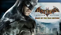 Batman: Arkham Asylum (GOTY) (PC) Steam Key Region Free