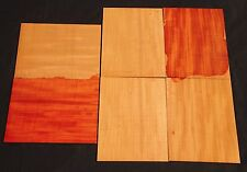 6 Seq Pc of Ribbon Striped Hawaii Grown Cuban Swietenia Mahagoni Wood (CBP) #17