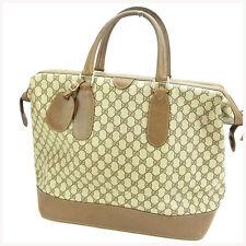 Gucci Boston bag G logos Woman Authentic Used Y582