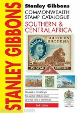 Stanley GIBBONS COMMONWEALTH Catálogo De Sellos-sur & África Central 2nd Ed