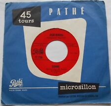 DICK RIVERS Un coeur blesse / Donne Ex->NM- CANADA ONLY!! 1968 Pathe 45 FRENCH
