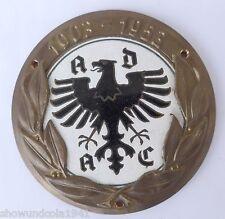 Plakette Badge Autoplakette --50 Jahre ADAC 1903-1953--