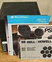 Vintage Bell & Howell 3000 SLIDE PROJECTOR W/ EXTRA LENS