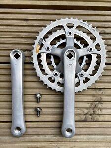 Shimano DEORE FC-MT60 Crankset - 175mm - Square Taper - 80's Retro Mountain Bike