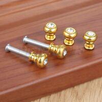 European Style Rhinestone Drawer Pull Cabinet Knob Furniture Door Handle Mini