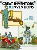 Great Inventors and Inventions (Dover History Coloring Book) by Bruce LaFontaine