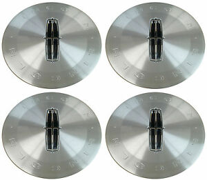 (4) NEW OEM 2011 LINCOLN TOWNCAR CENTER CAPS HUBCAPS P/N 8W1Z-1130-C FOMOCO