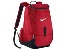Nike Club Team Swoosh Red Bag Backpack Soccer Rucksack School Soccer Football