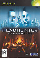 HEADHUNTER REDEMPTION for Xbox - with box & manual - PAL