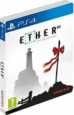 Ether One Steel Book Limited Edition PlayStation Ps4 Game
