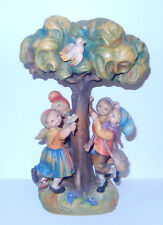 Vintage Italy ANRI SPRING DANCE 12in Tree Children CUTE