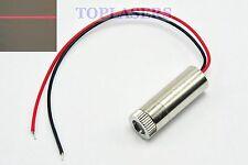 2pcs New Focusable 5mW 650nm Red Laser Diode Line Module 12x30mm DC3V-5V