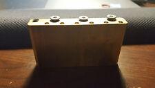 FU Tone Brass Trem Block for Strat (2 point trem bridge)