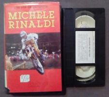 VHS Ita Una vita da campione MICHELE RINALDI videobox ex nolo no dvd(VH63)