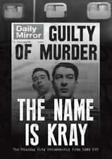 The Name Is Kray DVD The Missing Documentary