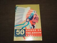 VINTAGE BSA BOY SCOUTS OF AMERICA 1965 50 YEARS ORDER OF THE ARROW HANDBOOK BOOK