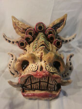 The Pearl Dragon - Large Ceramic Sculpture with wall mount