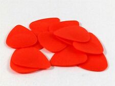 Wedgie Guitar Picks  12 Pack  Delrin  Textured  .60mm  Orange
