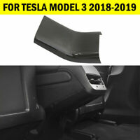 Carbon Fiber Rear Anti-Dirty Cover For Tesla Model 3 2018 2019 Black Accessories