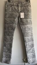 Balenciaga Slim-Fit Printed Cotton Blend Jeans W32 RRP £ 375