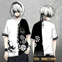 Anime NieR:Automata T-shirt Loose Short Sleeve TEE Tops Unisex Gift #Q005