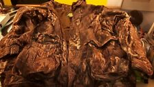 Cabellas Mossy Oak Mens Jacket Good Condition Size LG