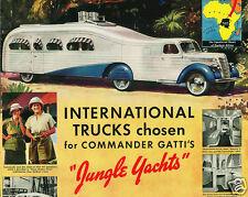 """1939 International Harvester """"Jungle Yacht"""" RV, Refrigerator Magnet, 40 MIL"""