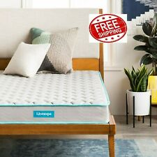 LINENSPA 6 Inch Innerspring Mattress - Twin Free Shipping!
