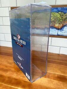 "Clear Acrylic/Lexan collectible Display Box (cereal box sz.) NEW~12.5x8.75""x3.5"""
