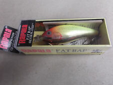 Hard to Find Rapala Wood Fat Rap,FR-7 CLN,Clown,Ireland