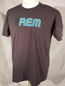 R.E.M. Vote for Change concert Gray Cotton T-shirt adult size XL USA