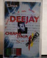 Linus DEEJAY CHIAMA ITALIAN - FARGETTA - MUSICASSETTA SIGILLATA ORIGINALE