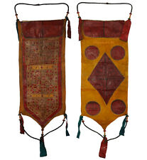 Antike Tuareg Sahara Beduinen Ledertasche Wanddekoration Tuareg Leather Bag (L)