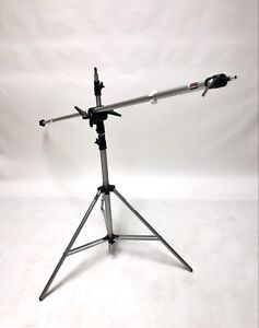 Bogen Manfrotto Light Stand 3082 with Bogen Manfrotto Boom Arm Assembly 3085